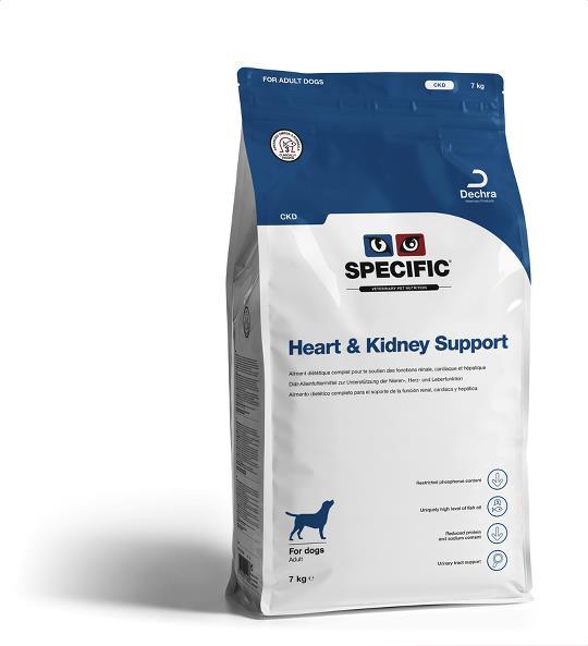 SPECIFIC Dechra Dog Heart and Kidney Support