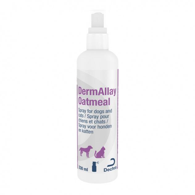 DermAllay Otamel umirujući i hidratizirajući šampon u spreju od zobi za pse i mačke 230 ml