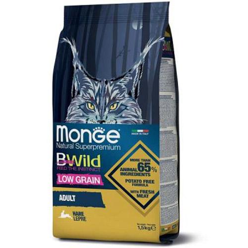 Monge BWild Cat Adult Zečetina 1.5kg