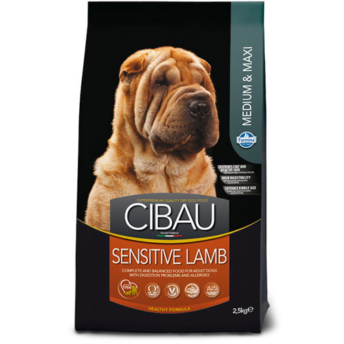 CIBAU Sensitive Medium i Maxi Jagnjetina