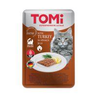 Tomi GF sos za mačke Ćuretina, Spanac u želeu 100g