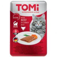 Tomi GF sos za mačke Govedina, Šargarepa u želeu 100g
