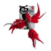 Igracka za mačke Riba sa Mačjom Travom
