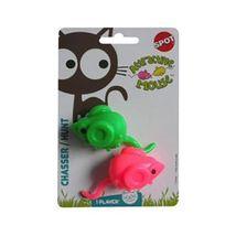 Igračka za mačke Mini Miš sa Mačjom Travom