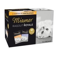 Miamor Ragu Multibox Jelly Kitten Živina i Govedina 12x100g
