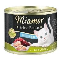 Miamor Feine Beute konzerva za mačiće Živina 185g