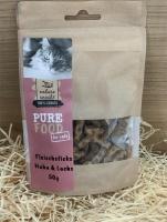 Purefood Štapići Piletina i Losos poslastica za mačke 50g