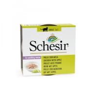 Schesir konzerva za mačke Piletina i Jabuka 75g