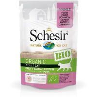 Schesir Bio Organic preliv za mačke Svinjetina 85g