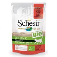 Schesir Bio Organic preliv za mačke Teletina 85g
