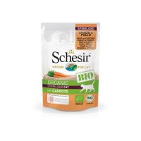 Schesir Bio preliv za sterilisane mačke Govedina, Piletina,Šargarepa  85g