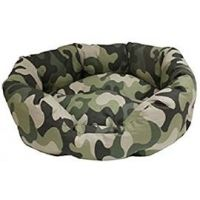 Ležaljka za pse Ovalna Mimetic Camouflage
