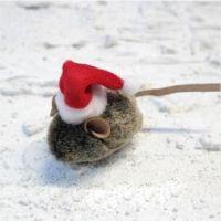 Igračka za mačke Božićni Miš