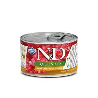 N&D Quinoa konzerva za pse Skin&Coat Mini Prepelica i Kokos 140 g