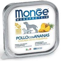 Monge Monoprotein pašteta za pse Piletina i Ananas 150 g