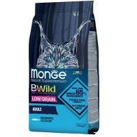 Monge Cat BWild Low Grain Adult Inćun 1,5 kg