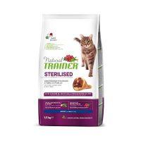 Trainer Natural Cat Sterilised Šunka