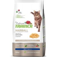 Trainer Natural Cat Hairball Piletina 300gr