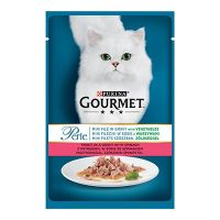 Gourmet Perle sos za mačke Pastrmka i Spanać 85g