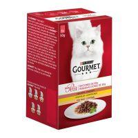 Gourmet Mon Petit sos za mačke Živina 6x50g