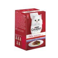 Gourmet Mon Petit sos za mačke Meso 6x50g