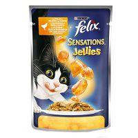 Felix Sensations sos za mačke Piletina i Šargarepa 100g