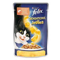 Felix Sensations sos za mačke Losos i Škampi 100g