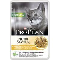 Purina Pro Plan Nutri Savour Cat Sterilised Piletina 85g