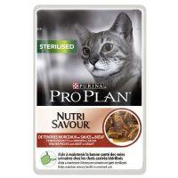 Purina Pro Plan Nutri Savour Cat Sterilised Govedina 85g