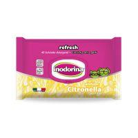 Inodorina Refresh Citronella vlažne maramice 40 kom