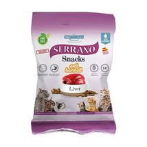 Mediterranean Natural Serrano Snack poslastica za mačke Dzigerica 50g