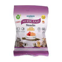 Mediterranean Natural Serrano Snack poslastica za mačke Losos i Tuna 50g