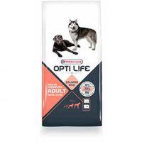 Opti Life Skin Care Adult Medium i Maxi Losos i Pirinač 12,5 kg