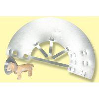 Plastična zaštitna kragna za pse i mačke
