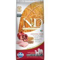 N&D Low Grain Light Medium i Maxi Piletina i Nar 12 kg