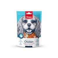 Wanpy Chicken Jerky & Calcium Bone Twists 100 g